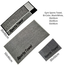 Sports Gym Terry Towel, Yoga, Outdoor, Fitness,  100%Coton, Jacquard, Bi-Color