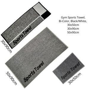 Sports Gym Terry Towel, Yoga, Outdoor, Fitness,  100%Coton, Jacquard, Bi-Color