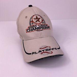 New Era Houston Astros Baseball 2005 League Champions MLB Hat Tan Youth One Size