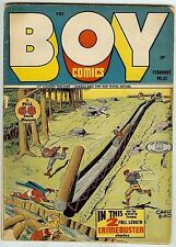 Boy Comics #32 (68 pages, Gleason 1947, vg/fn 5.0) Guide: $72.50 (£48.00)
