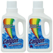 Calgon Water Softener, Laundry Detergent Booster 32 oz (Pack of 2)