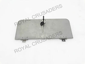 NEW WILLYS JEEP FRONT WINDSHIELD VENT DOOR WITH LOCK #G164