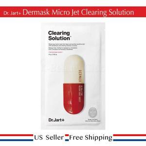 Dr. Jart+ Dermask Micro Jet Clearing solution Mask (5pcs) + FREE SAMPLE [US]