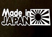MADE IN JAPAN DECAL STICKER VINYL TRUCK CAR FORD CHEVY DODGE VW JDM HONDA MAZDA
