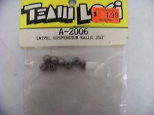 """TEAM LOSI LOSA2006 SWIVEL SUSPENSION BALLS  .250""""   Free Shipping!"""