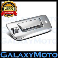 07-13 Chevy Silverado 1500+2500 Chrome Tailgate+Keyhole+Camera Hole Handle Cover