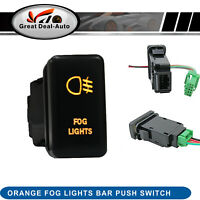 For Isuzu Dmax 09-12 Colorado 08-12 Orange Fog Light Push Switch forHolden Rodeo