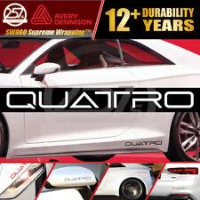 New Listingquattro Vinyl Decals 22 Pcs Set Racing Sport Emblem Letters Stickers For Audi