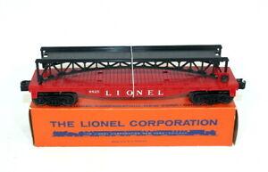 Postwar Lionel 6825 Flatcar With Trestle Bridge~Mint Unrun~w/Nice OB