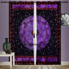 Indian Mandala Curtains Hippie Door Drapes Bohemian Astrology Window Room Decor