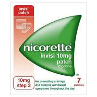 NICORETTE INVISI 10MG PATCH STEP 3 - 7 PATCHES