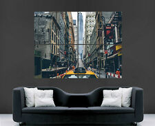 NEW YORK POSTER NYC CITY USA YELLOW TAXI PHOTO WALL  ART PICTURE PRINT LARGE