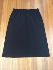 Mid-Calf Polyester A-Line Plus Size Skirts for Women