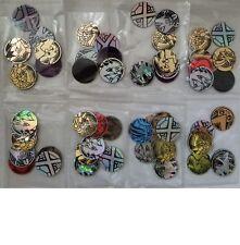 Pokemon* 3x Mixed Coin Lot - Near Mint Collectible Coins - No Duplicates