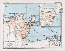 35 Dinard + St. Enogat 1925 pt. plan ville + guide (3 p.) High Life Casino Anse