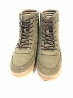 Rocket Dog Womens Ankle Boots High Tops Size 9 New Without Box Army Green
