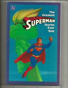 The Greatest Superman Stories Ever Told (1987) Unread High Grade NM+ 9.6