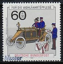 Specimen, Germany ScB694 Post & Telecommunications, Postal Vehicle (1900).