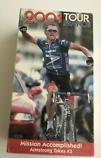 World Cycling Productions VHS Video 2001 Tour De France Armstrong NEW SEALED