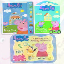 Peppa Pig ActivityCollection Colouring Pad Carry Set Height Chart 3 Books Set