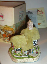 DAVID WINTER COTTAGES, MAY BRITISH TRADITIONS BLOSSOM COTTAGE w COA, NIB