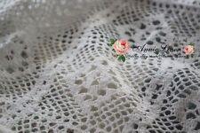 50% off blanc fait main pays vintage crochet sofa bed throw propagation +2 Taie d'oreiller