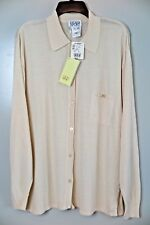 NWT Escada Sport Creme Linen Blend Knit Cardigan Size L MSRP $380 Made in Italy