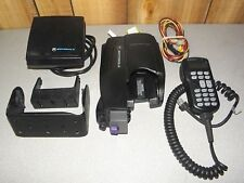 Motorola XTVA Convertacom XTS Vehicular Adapter NTN8561 with Speaker Mic Bracket