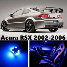7pcs LED Blue Light Interior Package Kit for Acura RSX 2002-2006