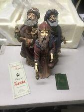"Duncan Royale Limited Edition History Of Santa Figurine ""Magi"" w/Original Box"