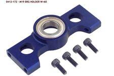 HIROBO 0412-172 19 Bearing Holder Blue HELICOPTER PARTS Nitro Brushless Rc