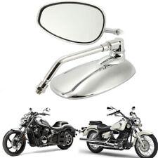 Rétroviseur en verre de moto chromé ovale pour la Ducati KTM Kawasaki RO