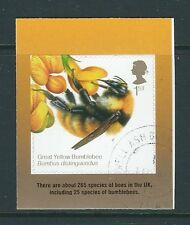 GREAT BRITAIN 2015 THE HONEYBEE SELF ADHESIVE STAMP FINE USED
