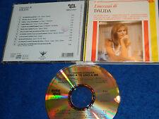 CD DALIDA 1991 I SUCCESSI DI en italien ITALIA replay music RMCD 4021 pomus COUR