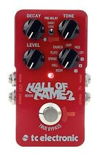 Tc Electronic Hall of Fame 2 Reverb effetto Reverbero a Pedale per Chitarra