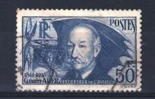 """FRANCE STAMP TIMBRE YVERT 398 """" CLEMENT ADER 50F OUTREMER """" OBLITERE TB R857"""
