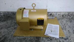 Baldor Electric EM3611T-5 3 HP 1760 RPM 575V 3 Phase Electric Motor