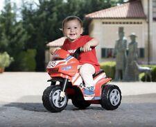 Peg Perego MOTORE-Triciclo Mini DUCATI 6 Volt colore: ROSSO-BIANCO-NERO