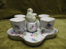 service à oeuf porcelaine SFP (french porcelain eggs service set)