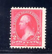 US Stamps - #250 - MNH - 2 cent Washington type I Issue - CV $85