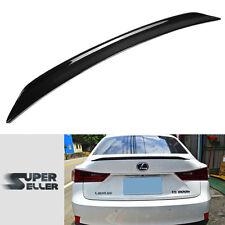 LA Stock for IS250 IS300h Sedan For LEXUS Carbon B Style Rear Trunk Spoiler Wing