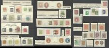 Worldwide stamp 1850-190 prepaid postage a page of mint & used stamps