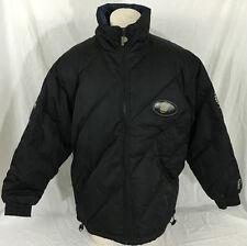 Pro Player Vintage 90s Georgetown Jacket Black Full-Zipper Men's Large