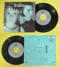 LP 45 7'' VAYA CON DIOS What's a woman For gone now 1980 italy BMG (*) cd mc dvd