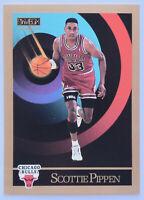 1990-91 SKYBOX BASKETBALL Scottie Pippen Card #46 NM Chicago Bulls Last Dance
