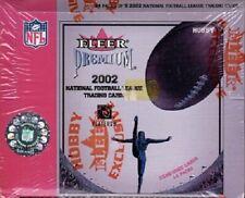 (1) 2002 Fleer Premium Football Factory Sealed Hobby Box (4 Game Used Cards)
