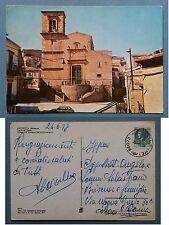 Mistretta - Piazza dei Vespri - Chiesa di S. Giovanni 1978