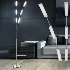 LED Design Steh Lampe Lese Stand Leuchte Touch-Dimmer 3000K Deckenfluter dimmbar