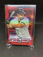 2020 Topps Fire Red Gary Sanchez #76 New York Yankees