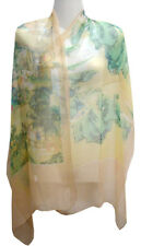 Chinese Apparel Chinese Silk Scarf - Landscape - Chinese Silk Scarves